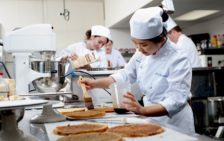 A Student Cooking