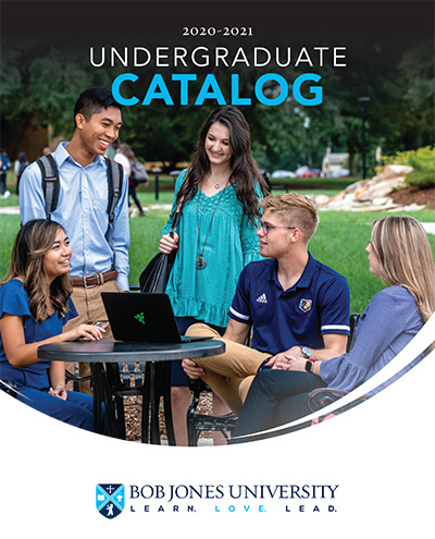 Catalogs | Bob Jones University