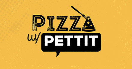 Pizza with Pettit logo