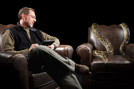 From Pet to Passion: Chris Carmichael, snake expert & professor